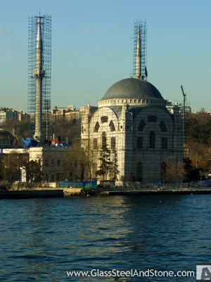 Dolmabaçhe Mosque in Istanbul, Istanbul