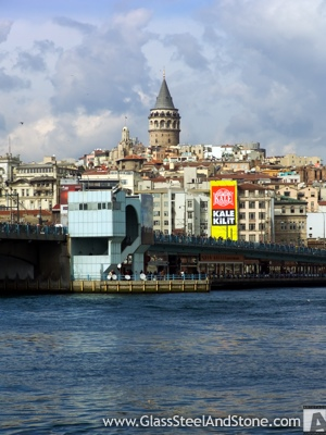The Galata Tower in Istanbul, Istanbul