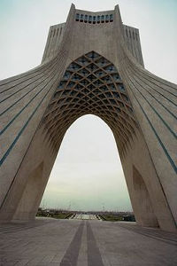Freedom Tower in Tehran, Tehran