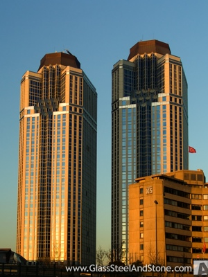 Isbank Tower 2 in Istanbul, Istanbul