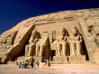 Photo of The Tomb of Ramses II in Abu Simbel, Aswan