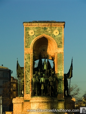The Republic Monument in Istanbul, Istanbul