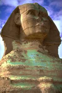 Photograph of The Great Sphinx